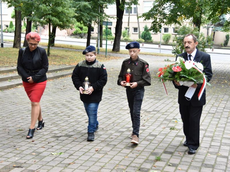 DSC 0525 Dąbrowa Tarnowska uczciła 81. rocznicę wybuchu II wojny światowej