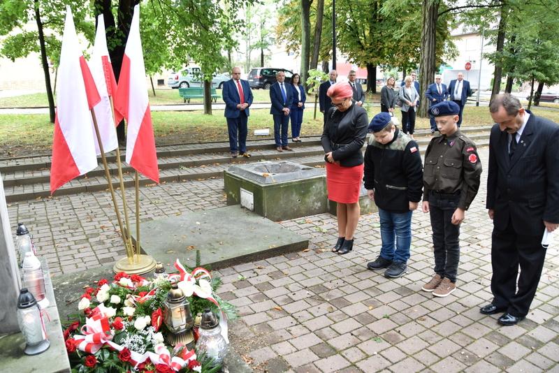 DSC 0532 Dąbrowa Tarnowska uczciła 81. rocznicę wybuchu II wojny światowej