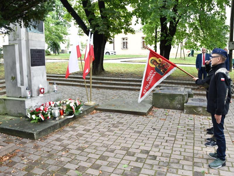 DSC 0536 Dąbrowa Tarnowska uczciła 81. rocznicę wybuchu II wojny światowej
