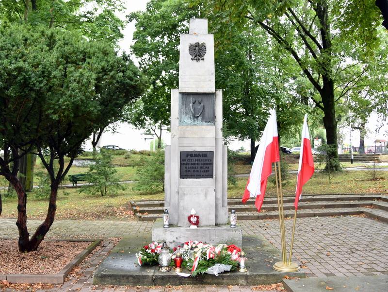 DSC 0539 Dąbrowa Tarnowska uczciła 81. rocznicę wybuchu II wojny światowej