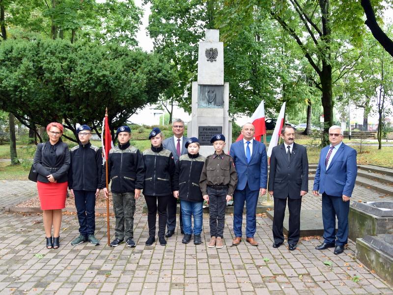 DSC 0550 Dąbrowa Tarnowska uczciła 81. rocznicę wybuchu II wojny światowej