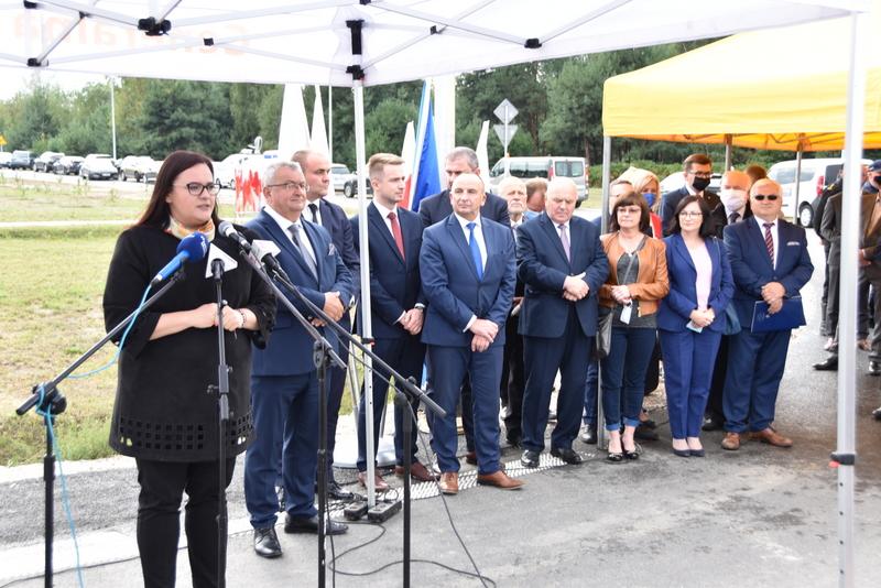 DSC 0569 Obwodnica Dąbrowy Tarnowskiej otwarta dla kierowców