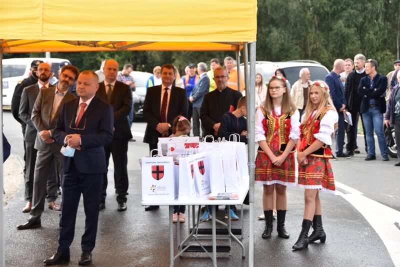 DSC 0573 Obwodnica Dąbrowy Tarnowskiej otwarta dla kierowców