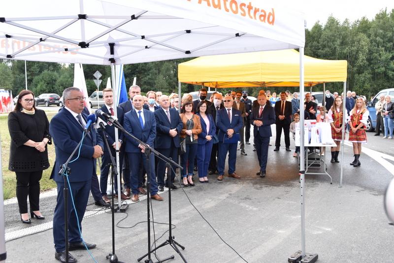 DSC 0577 Obwodnica Dąbrowy Tarnowskiej otwarta dla kierowców