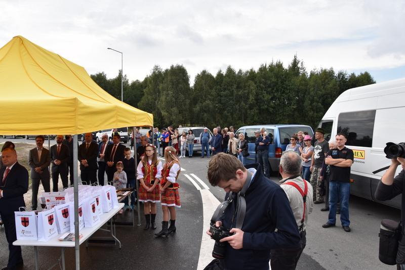 DSC 0586 Obwodnica Dąbrowy Tarnowskiej otwarta dla kierowców
