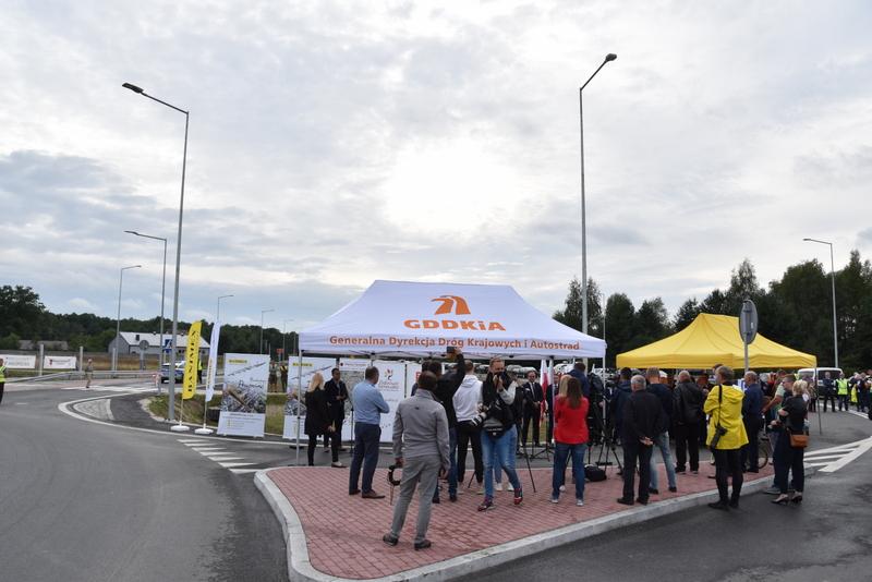 DSC 0590 Obwodnica Dąbrowy Tarnowskiej otwarta dla kierowców