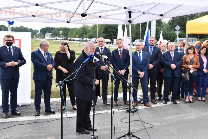 DSC 0601 Obwodnica Dąbrowy Tarnowskiej otwarta dla kierowców