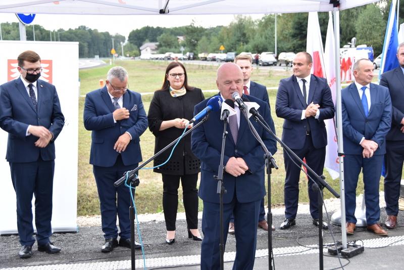 DSC 0622 Obwodnica Dąbrowy Tarnowskiej otwarta dla kierowców