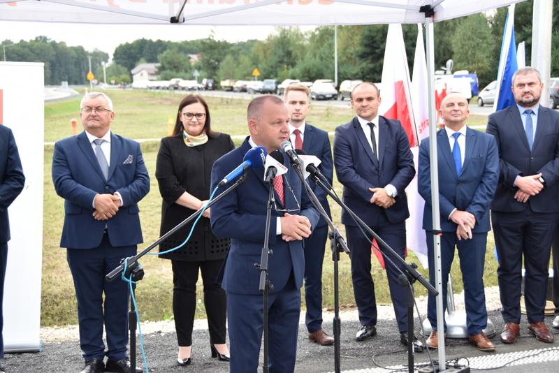 DSC 0625 Obwodnica Dąbrowy Tarnowskiej otwarta dla kierowców