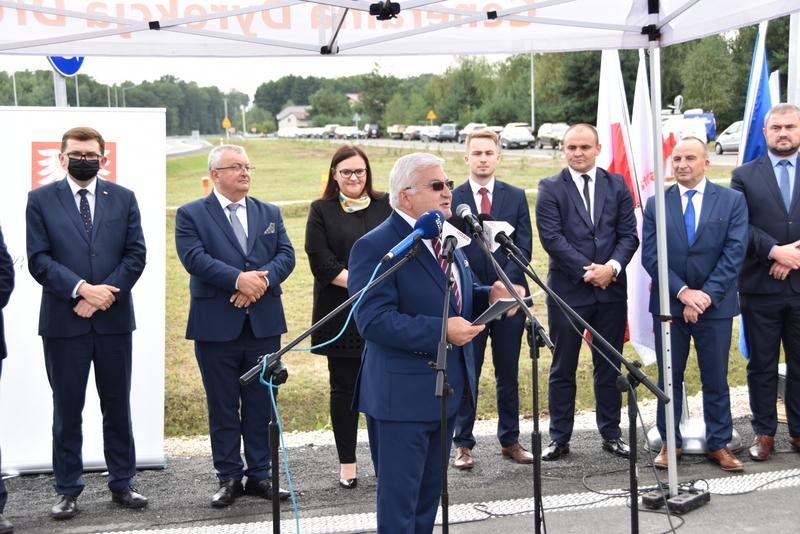 DSC 0628 Obwodnica Dąbrowy Tarnowskiej otwarta dla kierowców