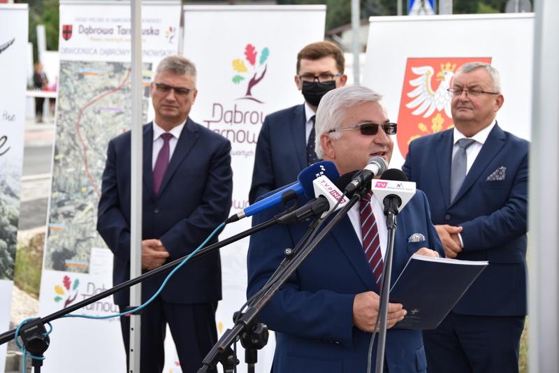 DSC 0630 Obwodnica Dąbrowy Tarnowskiej otwarta dla kierowców