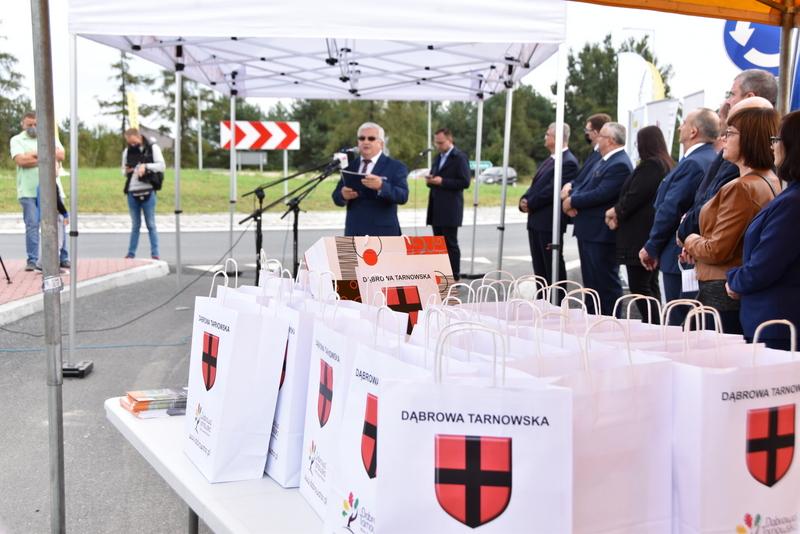 DSC 0643 Obwodnica Dąbrowy Tarnowskiej otwarta dla kierowców