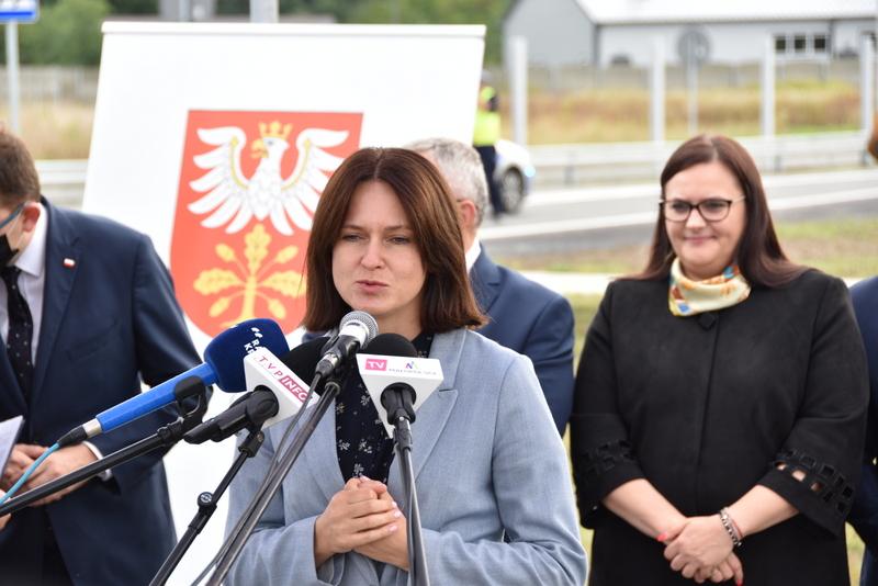 DSC 0649 Obwodnica Dąbrowy Tarnowskiej otwarta dla kierowców
