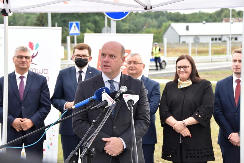 DSC 0651 Obwodnica Dąbrowy Tarnowskiej otwarta dla kierowców