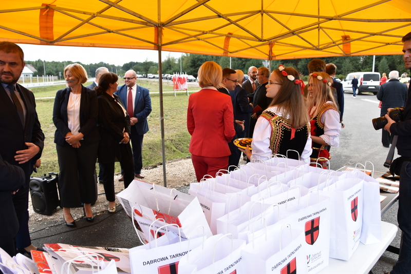 DSC 0663 Obwodnica Dąbrowy Tarnowskiej otwarta dla kierowców