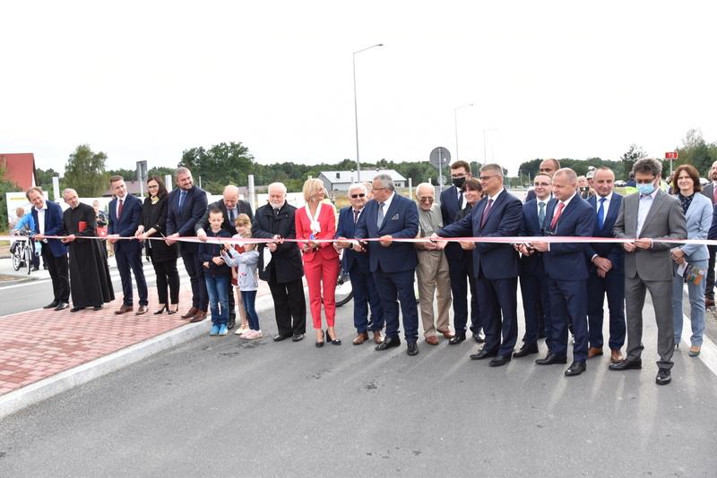 DSC 0685 Obwodnica Dąbrowy Tarnowskiej otwarta dla kierowców