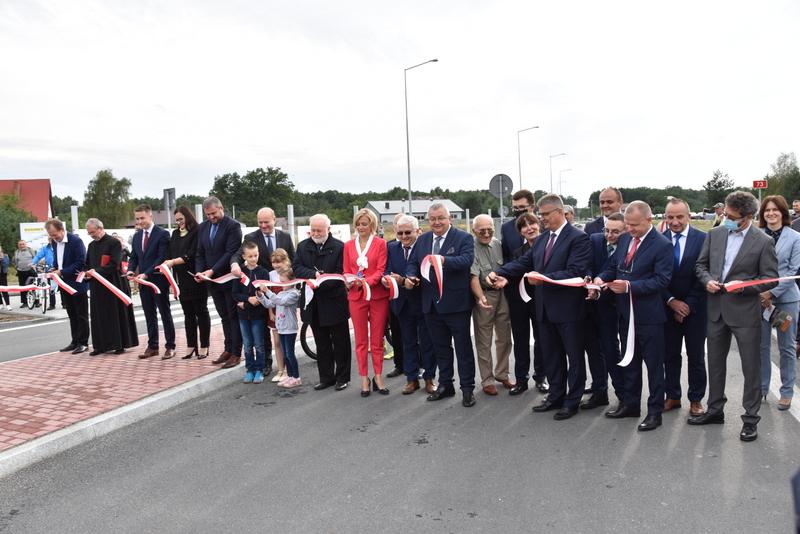 DSC 0690 Obwodnica Dąbrowy Tarnowskiej otwarta dla kierowców