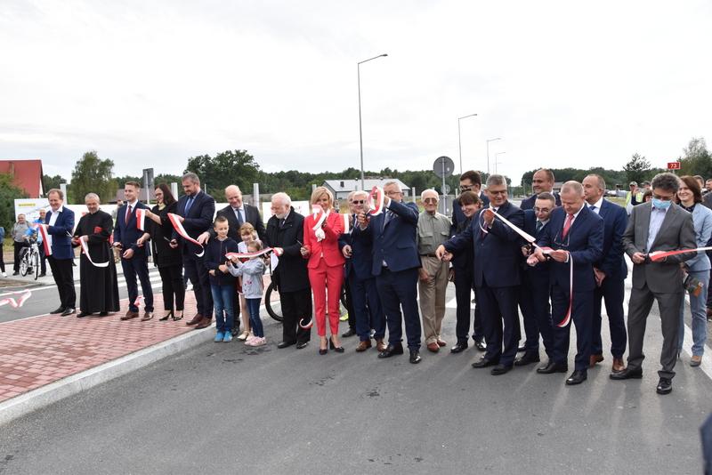 DSC 0693 Obwodnica Dąbrowy Tarnowskiej otwarta dla kierowców