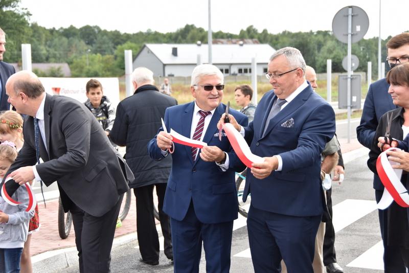 DSC 0701 Obwodnica Dąbrowy Tarnowskiej otwarta dla kierowców