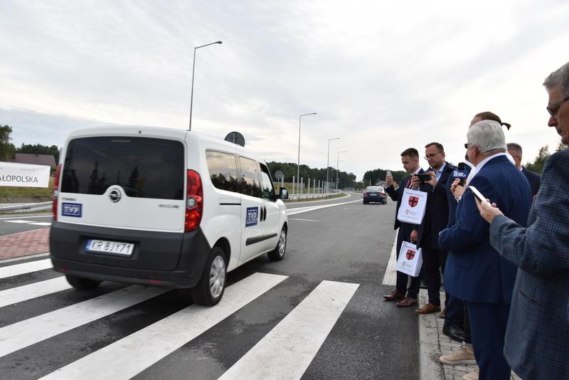 DSC 0736 Obwodnica Dąbrowy Tarnowskiej otwarta dla kierowców