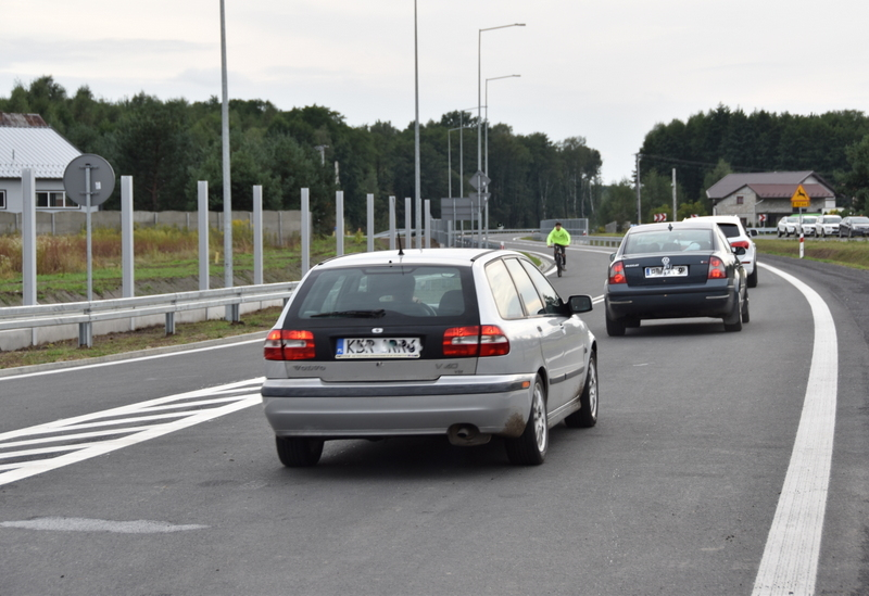 DSC 0741 Obwodnica Dąbrowy Tarnowskiej otwarta dla kierowców