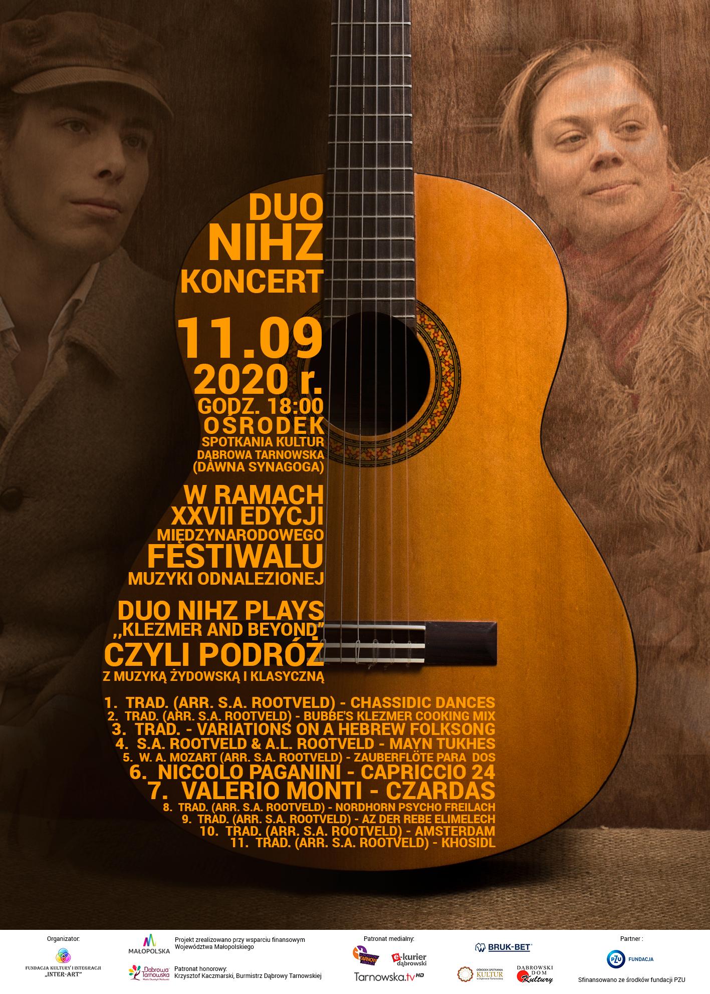 plakat facebook W Ośrodku Spotkania Kultur wracają koncerty – perełka w ramach Festiwalu Muzyki Odnalezionej