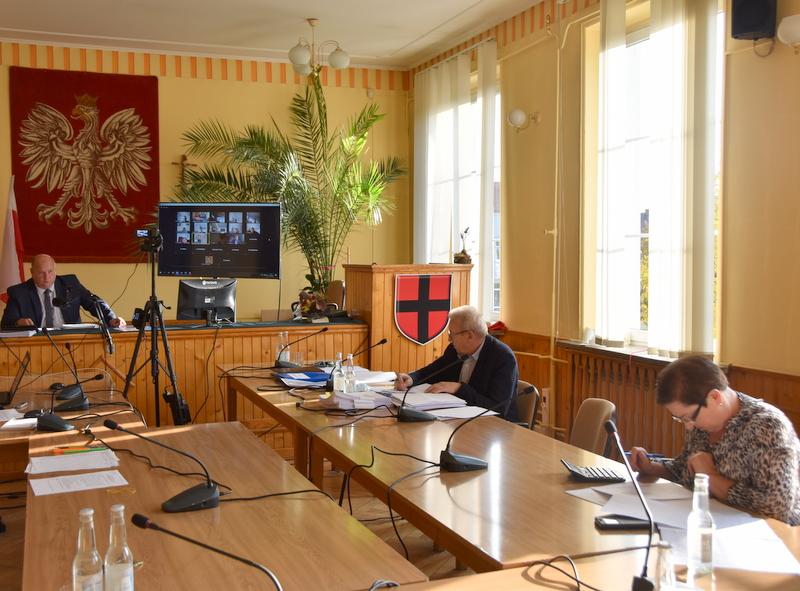 DSC 0229 XXV sesja Rady Miejskiej w Dąbrowie Tarnowskiej