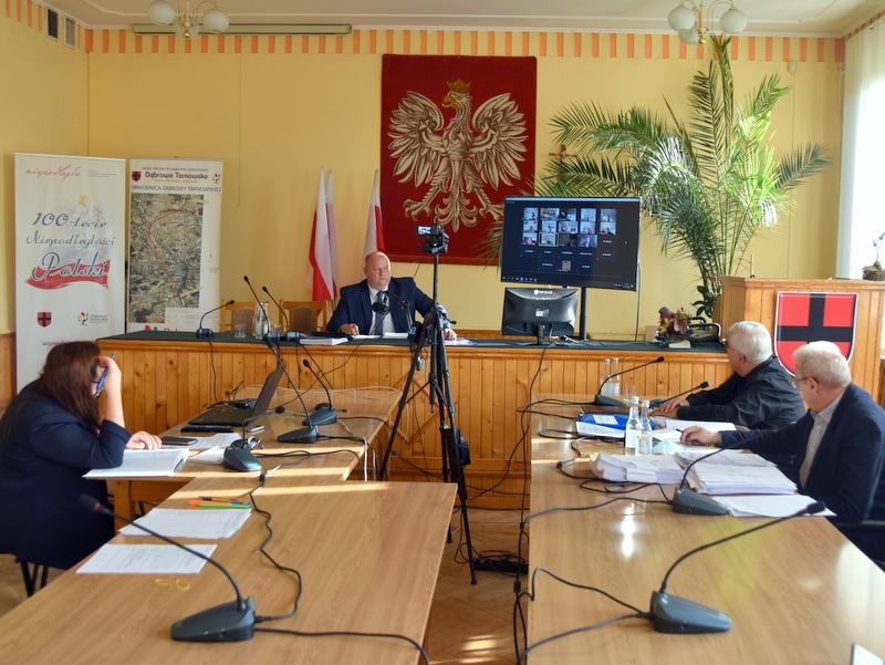 DSC 0238 XXV sesja Rady Miejskiej w Dąbrowie Tarnowskiej
