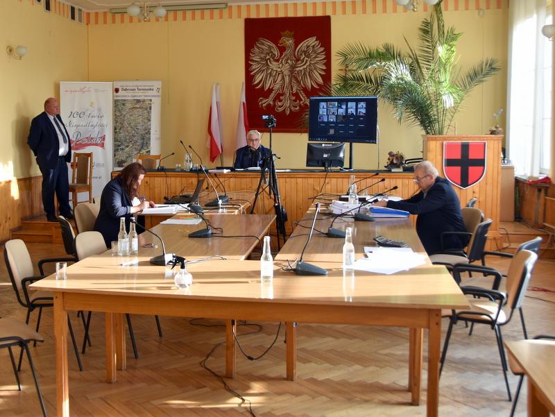 DSC 0243 XXV sesja Rady Miejskiej w Dąbrowie Tarnowskiej