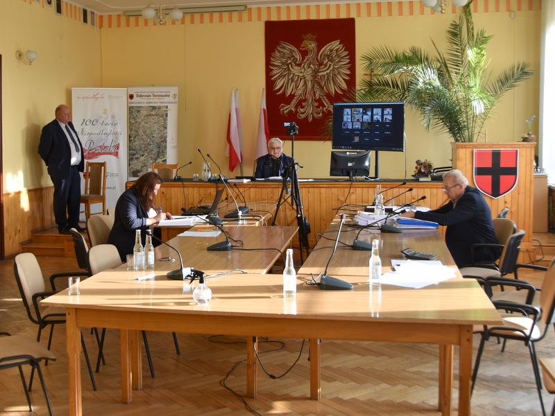 DSC 0244 XXV sesja Rady Miejskiej w Dąbrowie Tarnowskiej