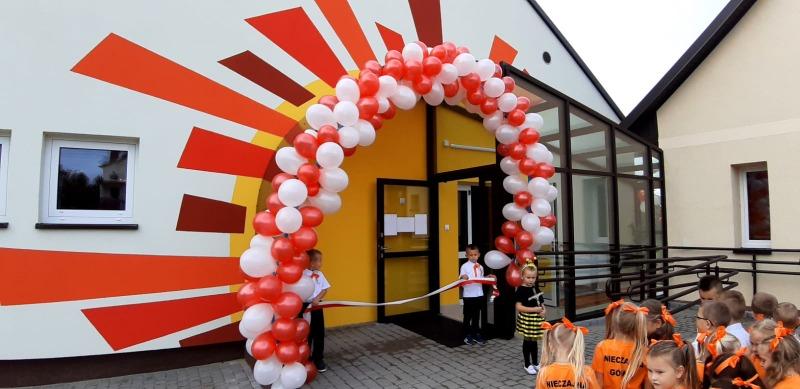 NG107 Uroczyste otwarcie sali dydaktycznej w Nieczajnie Górnej