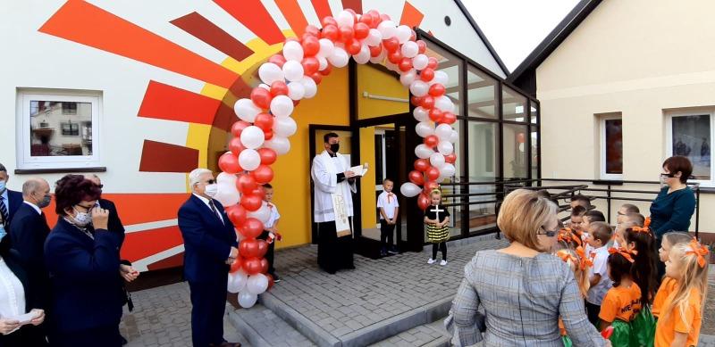 NG171 Uroczyste otwarcie sali dydaktycznej w Nieczajnie Górnej