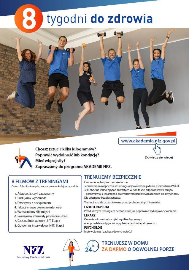 dbaef6990b66507 8 tygodni do zdrowia   projekt Narodowego Funduszu Zdrowia
