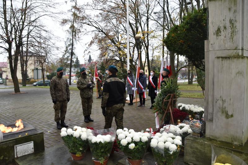 DSC 0284 Dąbrowskie obchody 102. rocznicy odzyskania niepodległości przez Polskę
