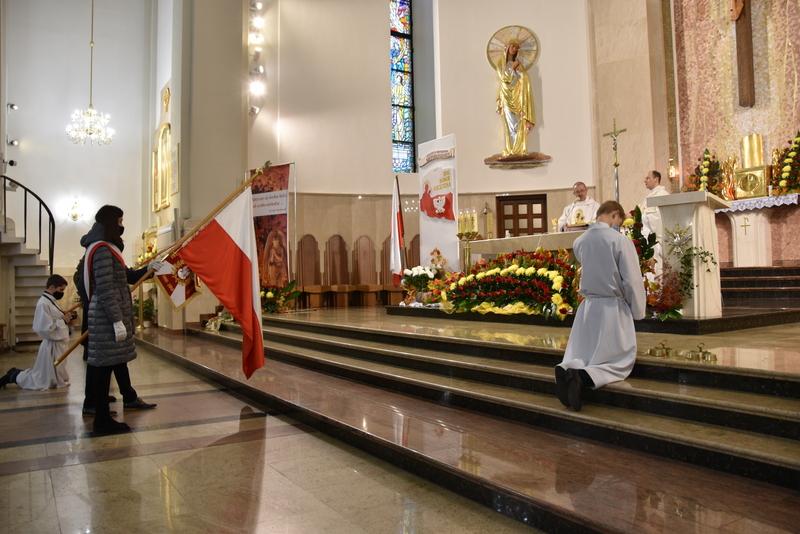 DSC 0327 Dąbrowskie obchody 102. rocznicy odzyskania niepodległości przez Polskę