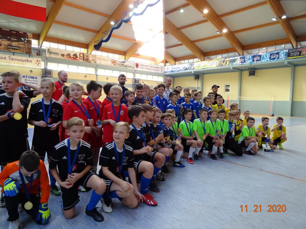 VII DDJ 2020 1 Podsumowanie piłkarskich turniejów Dąbrowska Dębowa Jesień 2020