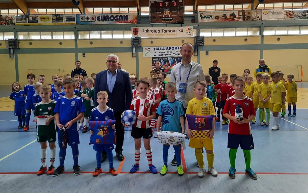 VII DDJ 2020 13 Podsumowanie piłkarskich turniejów Dąbrowska Dębowa Jesień 2020