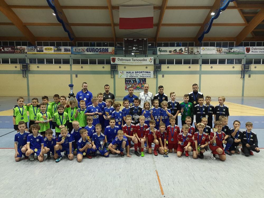 VII DDJ 2020 17 Podsumowanie piłkarskich turniejów Dąbrowska Dębowa Jesień 2020