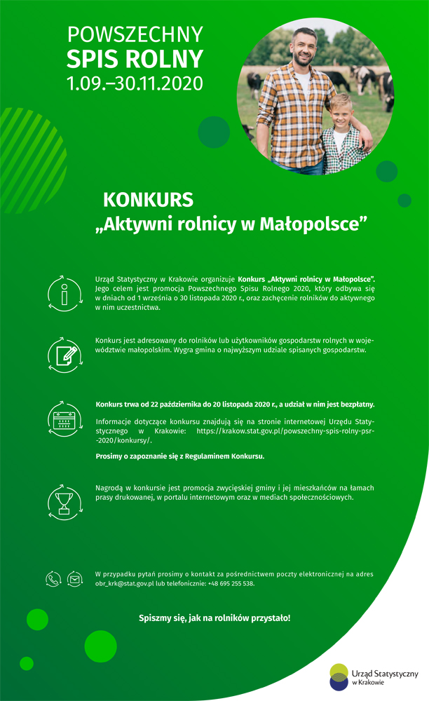 konkurs aktywni rgb s PSR 2020   Konkurs Aktywni rolnicy w Małopolsce