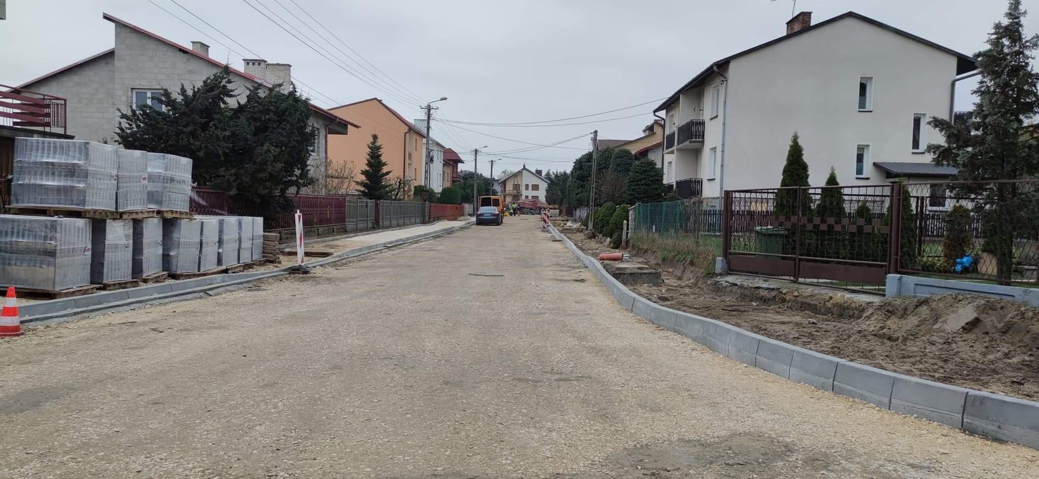 %name Trwają prace remontowe przy ulicach Popiełuszki i Batalionów Chłopskich