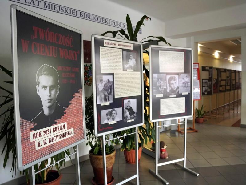 1  DSC0341 Wystawa w 100. rocznicę urodzin Krzysztofa Kamila Baczyńskiego