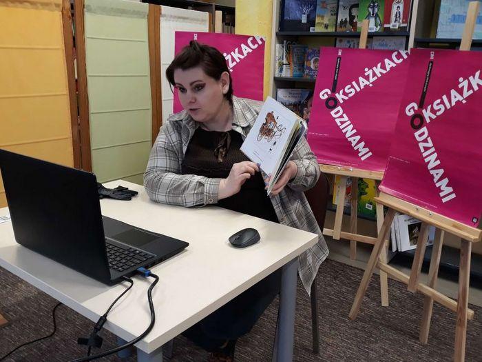 1 AGjpg Spotkanie online Dyskusyjnego Klubu Książki dla dzieci