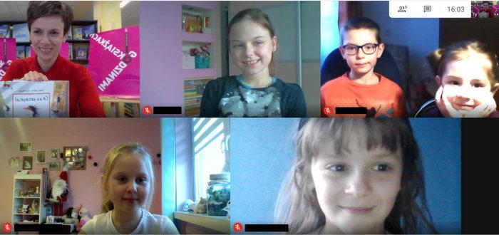 1 KLUBMBP2 Spotkanie online Dyskusyjnego Klubu Książki dla dzieci