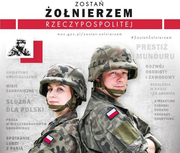 1 grafika zostan zolnierzem rzeczypospolitej web Zostań żołnierzem Rzeczypospolitej Polskiej
