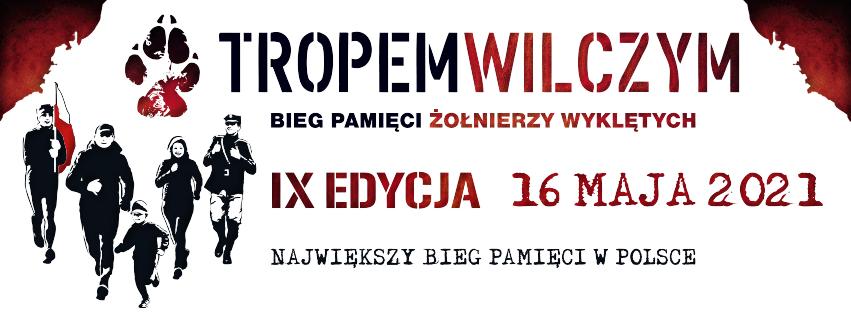 01 zajawka 2021 fb Bieg Tropem Wilczym   Dąbrowa Tarnowska 2021