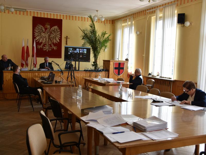 1 DSC 0883 XXX sesja Rady  Miejskiej w Dąbrowie Tarnowskiej