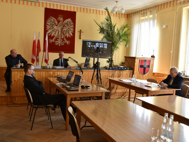1 DSC 0886 XXX sesja Rady  Miejskiej w Dąbrowie Tarnowskiej