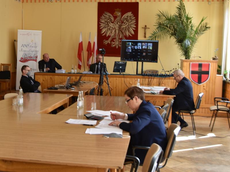 1 DSC 0888 XXX sesja Rady  Miejskiej w Dąbrowie Tarnowskiej