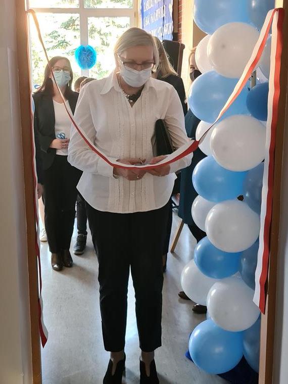 Otwarcie pracowni integracji sensorycznej SP3 Dąbrowa Tarnowska 3 Otwarcie pracowni integracji sensorycznej w dąbrowskiej Trójce