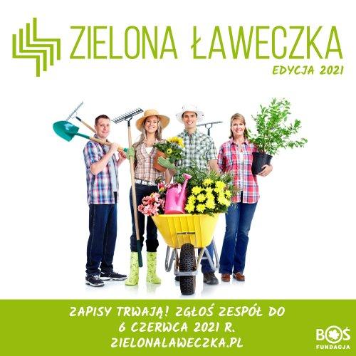 """1 Ziel 1 Konkurs grantowy """"Zielona Ławeczka"""" dla grup sąsiedzkich"""